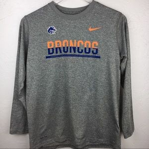 Youth Large Nike Long Sleeve NFL Denver Broncos